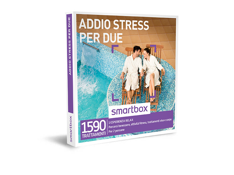 Cofanetto regalo  Addio stress per due  Smartbox