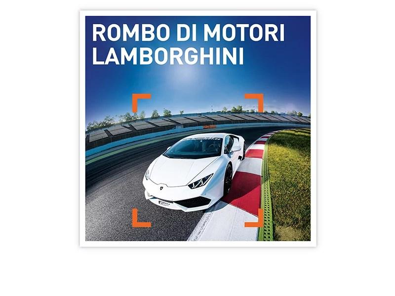 Cofanetto regalo  Rombo di motori  Lamborghini  Smartbox