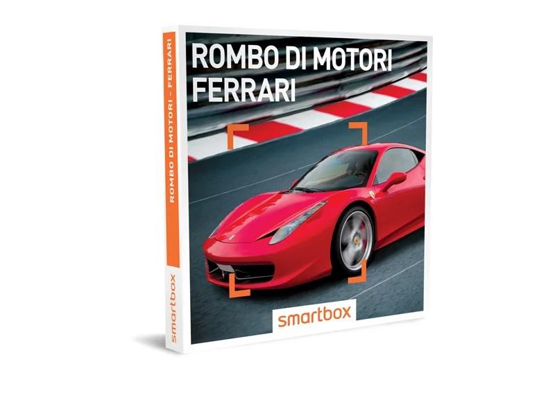Cofanetto regalo  Rombo di motori  Ferrari  Smartbox