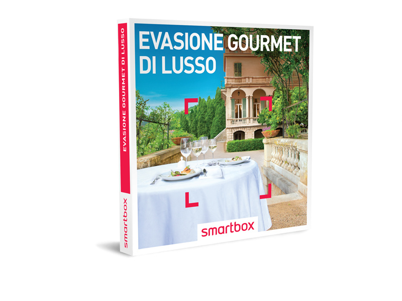 Cofanetto regalo  Evasione gourmet di lusso  Smartbox