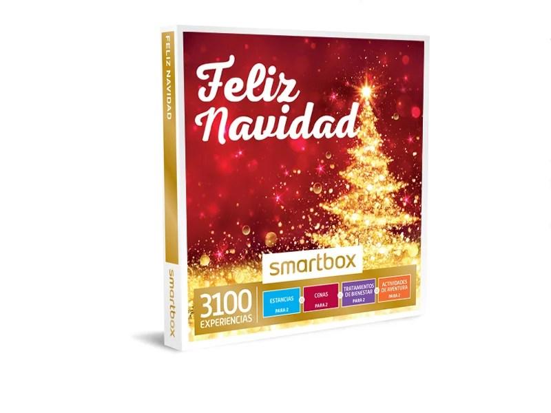 caja regalo feliz navidad