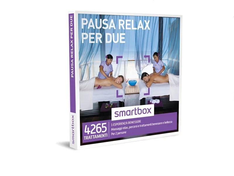 Cofanetto regalo  Pausa relax per due  Smartbox