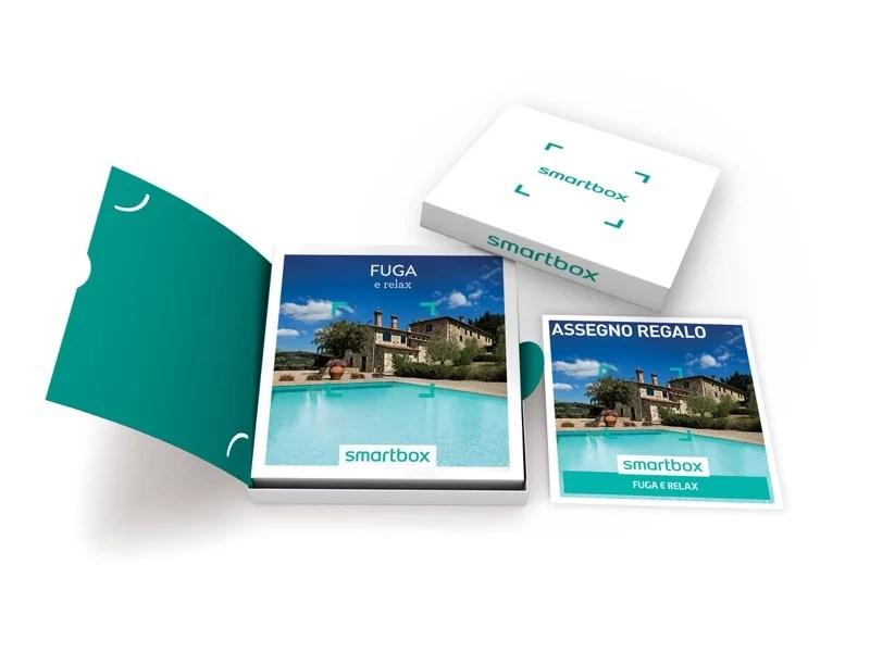 Cofanetto regalo  Fuga e relax  Smartbox