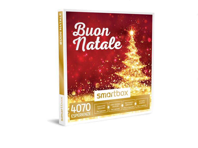 Cofanetto regalo  Buon Natale  Smartbox