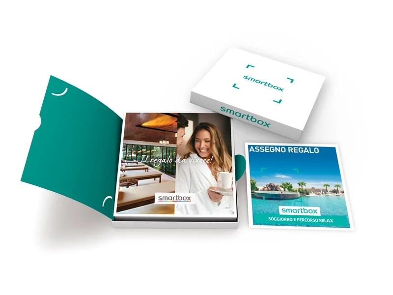 Cofanetto regalo  Soggiorno e percorso relax  Smartbox