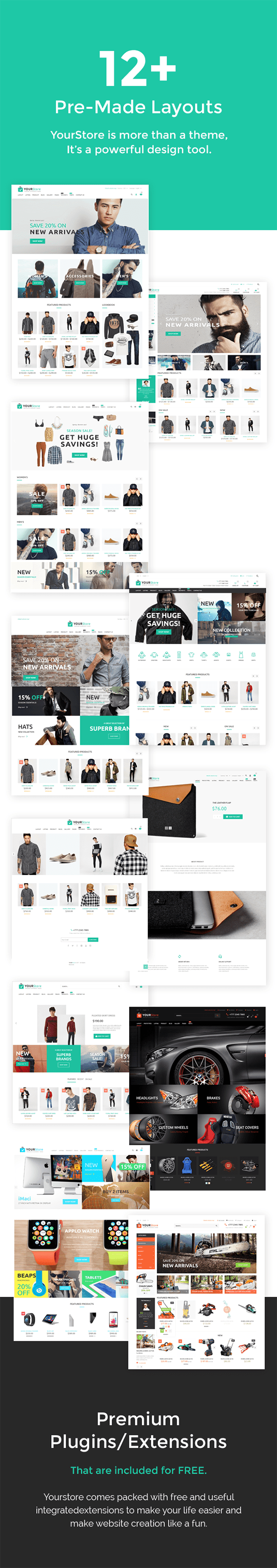YourStore - Woocommerce theme - 3