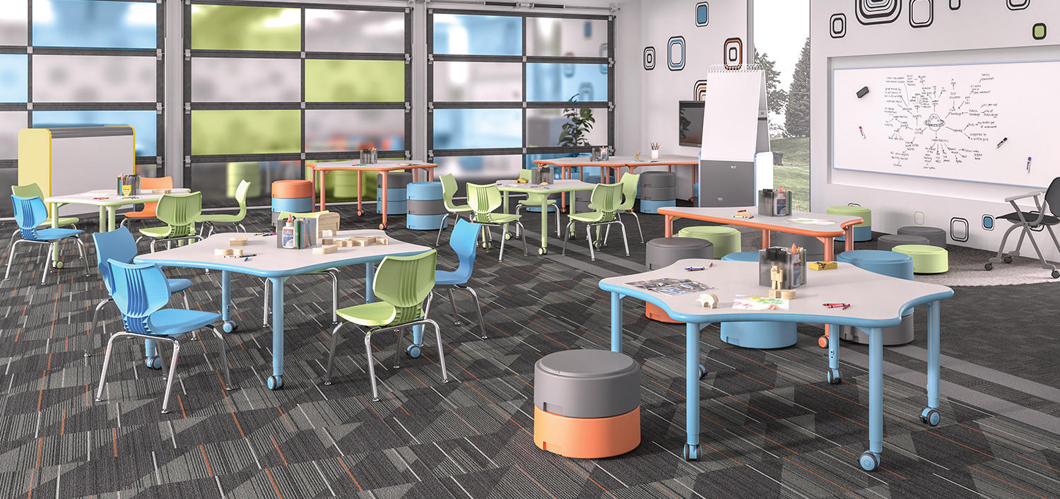 Collaborative Learning Environment Classroom Furniture  Smith System