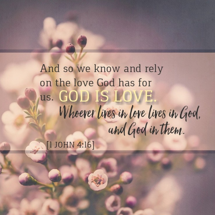 1 John 4:16 –   KCIS 630