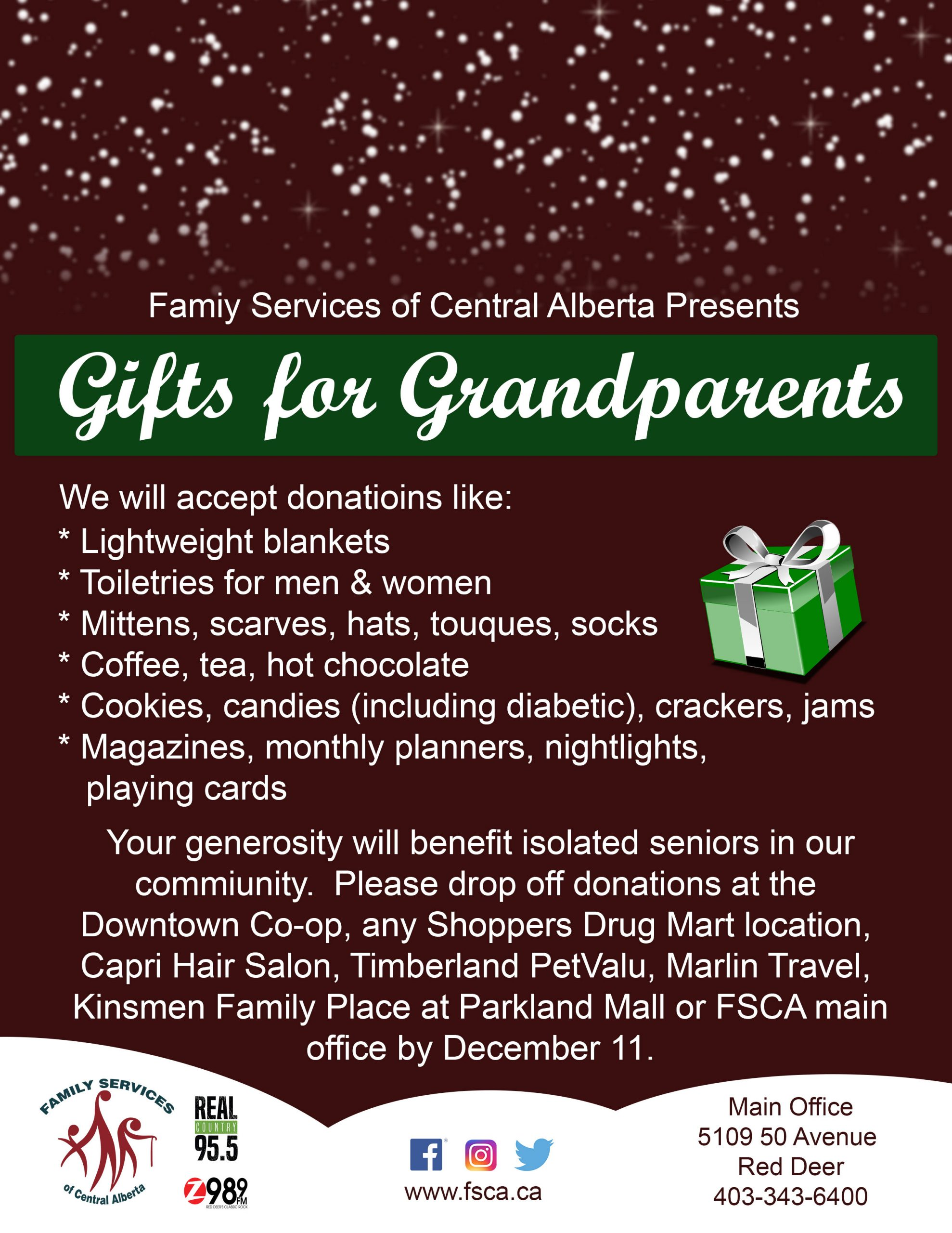 gifts for grandparents real