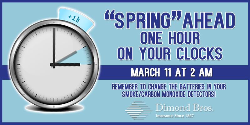 Daylight Saving Time Reminder – Spring Ahead   MyRadioLink.com
