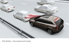 Volvo City Safety. (Image courtesy of Volvo.)