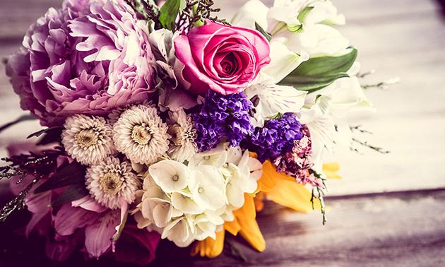 Dutch Flower Lady Waardebon voor ballonnen bloemen en