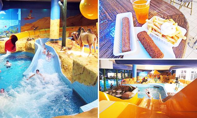 Subtropisch Zwemparadijs Mosaqua Entree Mosaqua Friet Snack Ijsdrank Bespaar In Hotels Uitjes Via Social Deal
