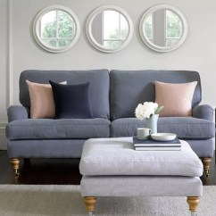 Bluebell Sofa Gumtree Papasan Set Sofas 2 Seat In Loch Brushed Linen Cotton 1 241