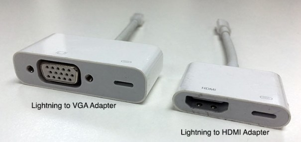 Lightning VGA & HDMI Adapter