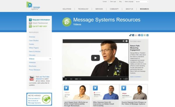 messagesystems2012-videos