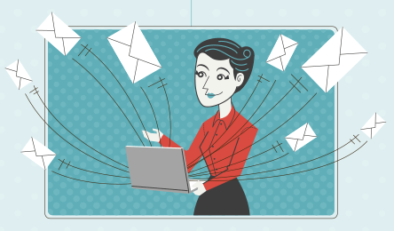 Commercial Emails Infographic