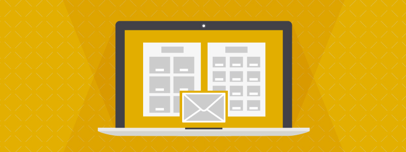 retail email template responsive 800x300