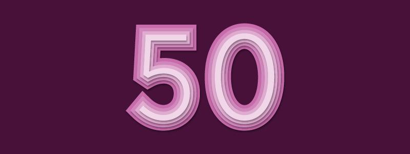 future 50 purple background 50 in pink 800 300
