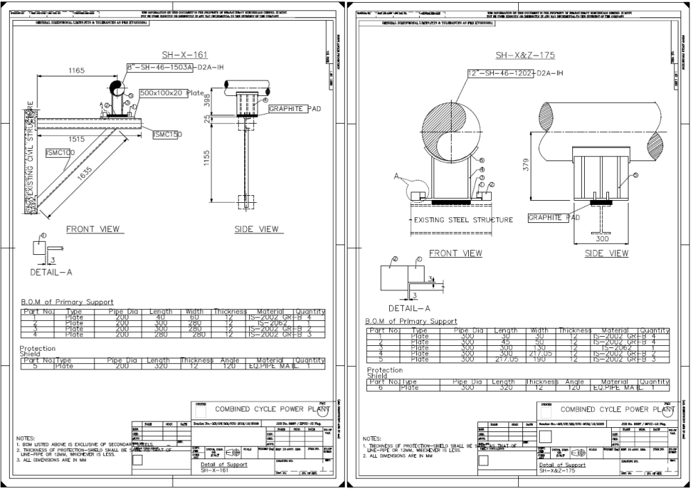 medium resolution of customized support detailed drawings using 3d plant design software