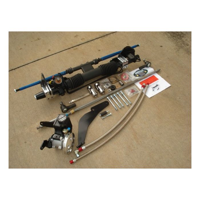 unisteer 8010280 01 chevy 1965 1966 impala power rack and pinion