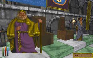 Kung Eadwyre och drottning Barenziah av Wayrest.
