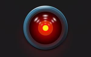 HAL 9000 - den superintelligenta skeppsdatorn ombord på Discovery.