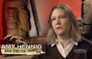 Amy Hennig på Naughty Dog.