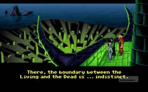 Äventyrsspelet Loom från LucasArts år 1990 innehåller inga föremål. Istället ligger allt fokus på pussel med ljud och musik, vilket bidrar till stämningen.