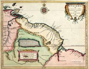 Parimesjön fanns länge med på brittiska kartor över Guyana långt in på 1800-talet, då man äntligen kunde bekräfta att den var påhittad.