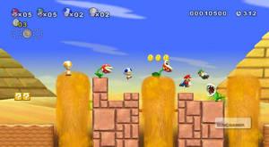 Fyra spelare blir faktiskt lätt rörigt - men för två spelare är New Super Mario Bros. Wii helt outstanding.