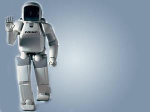 Asimo - Hondas robot från år 2000 var från början tänkt att hjälpa rörelsehindrade och kan själv ta sig fram i cirka 6 km/h.