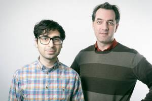 Babak Vahidi och Henrik Schinzel på Avail Intelligence.