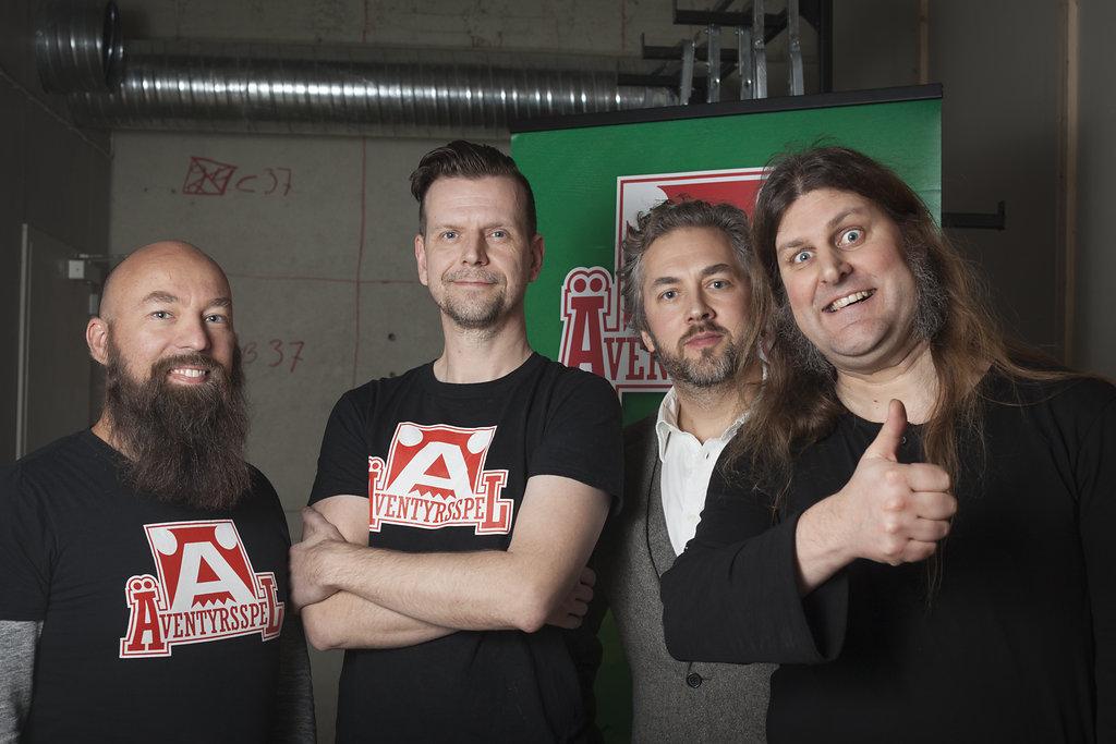 Jimmy, Dan, Erik och Orvar