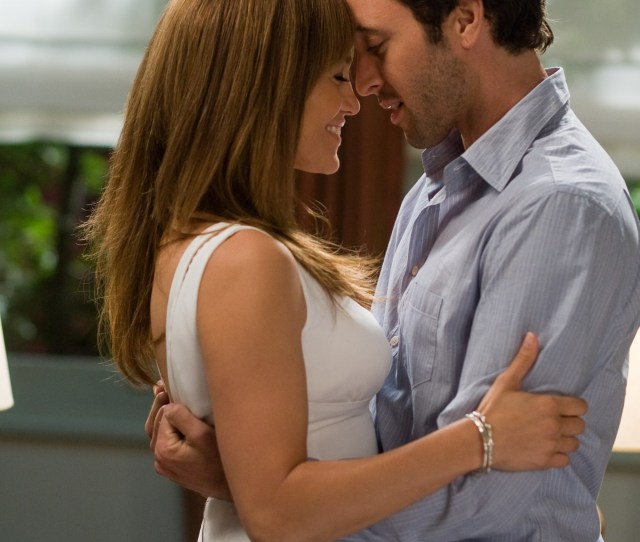 Jennifer Lopez Left And Alex Oloughlin Shown In A Scene From The