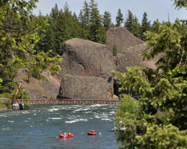 Spokane River Flow Rules Paddlers' Expectations