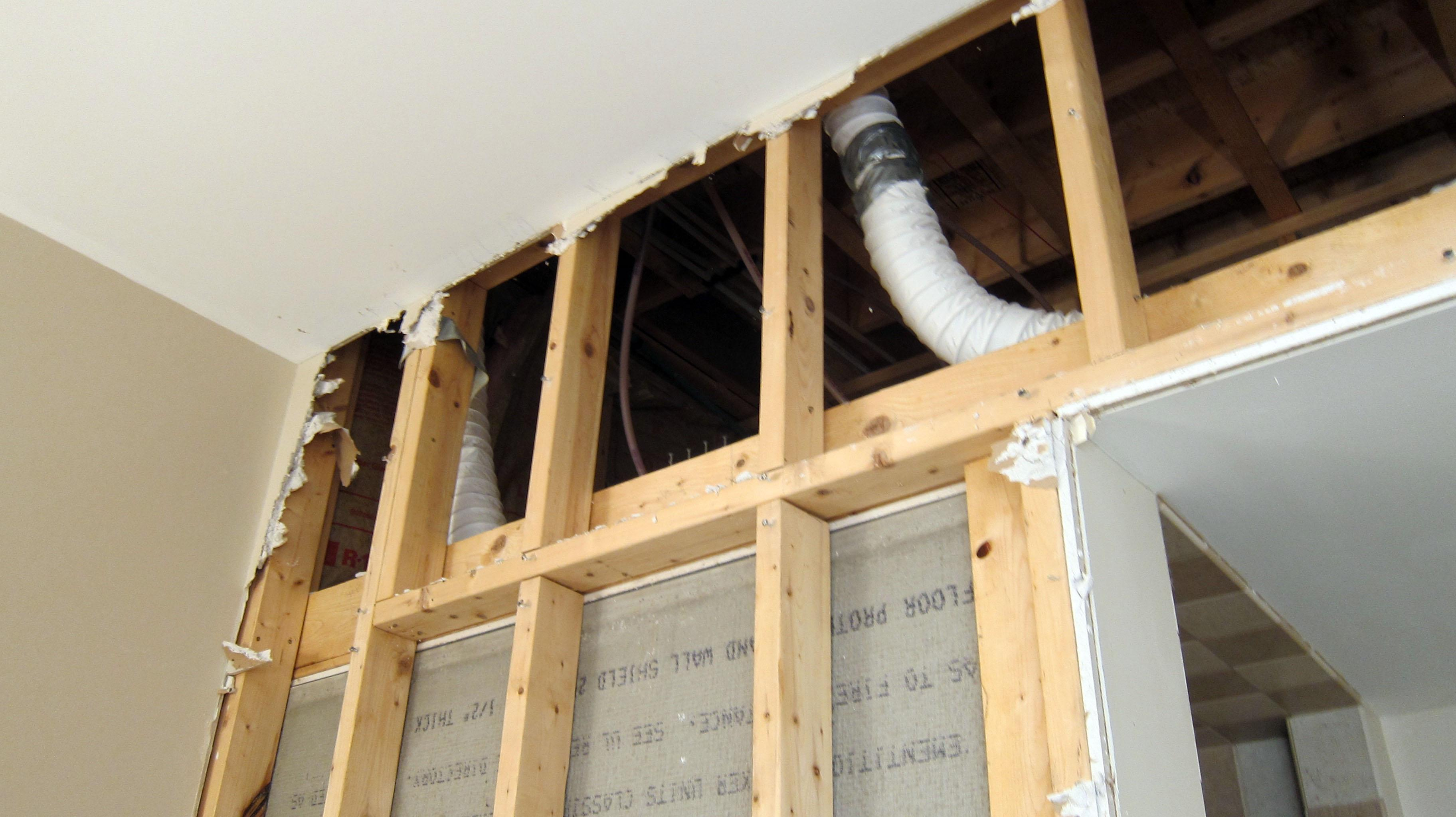 How To Install A Bathroom Exhaust Fan Poorly Installed Bath Fan Vents Can Cause Serious Problems The