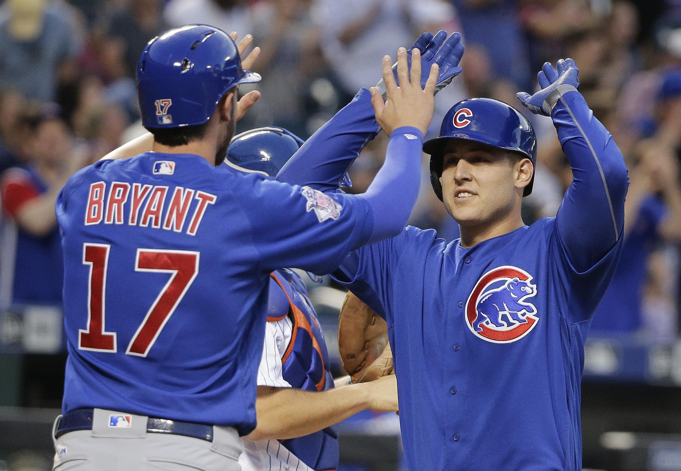 Five Cubs Elected To Start In MLB All Star Game The Spokesman Review