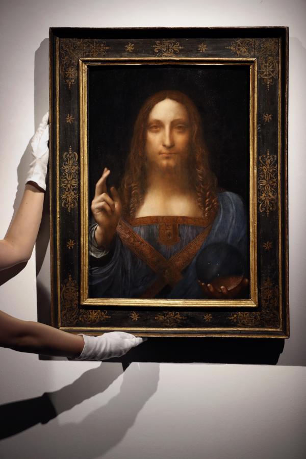 Rare Christ Painting Leonardo Da Vinci Sells Record