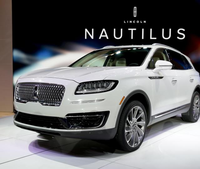 The 2019 Lincoln Nautilus Is Introduced During The Los Angeles Auto Show Wednesday Nov