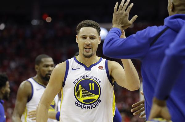 Klay Thompson scores 28 Kevin Durant 37 as Warriors beat