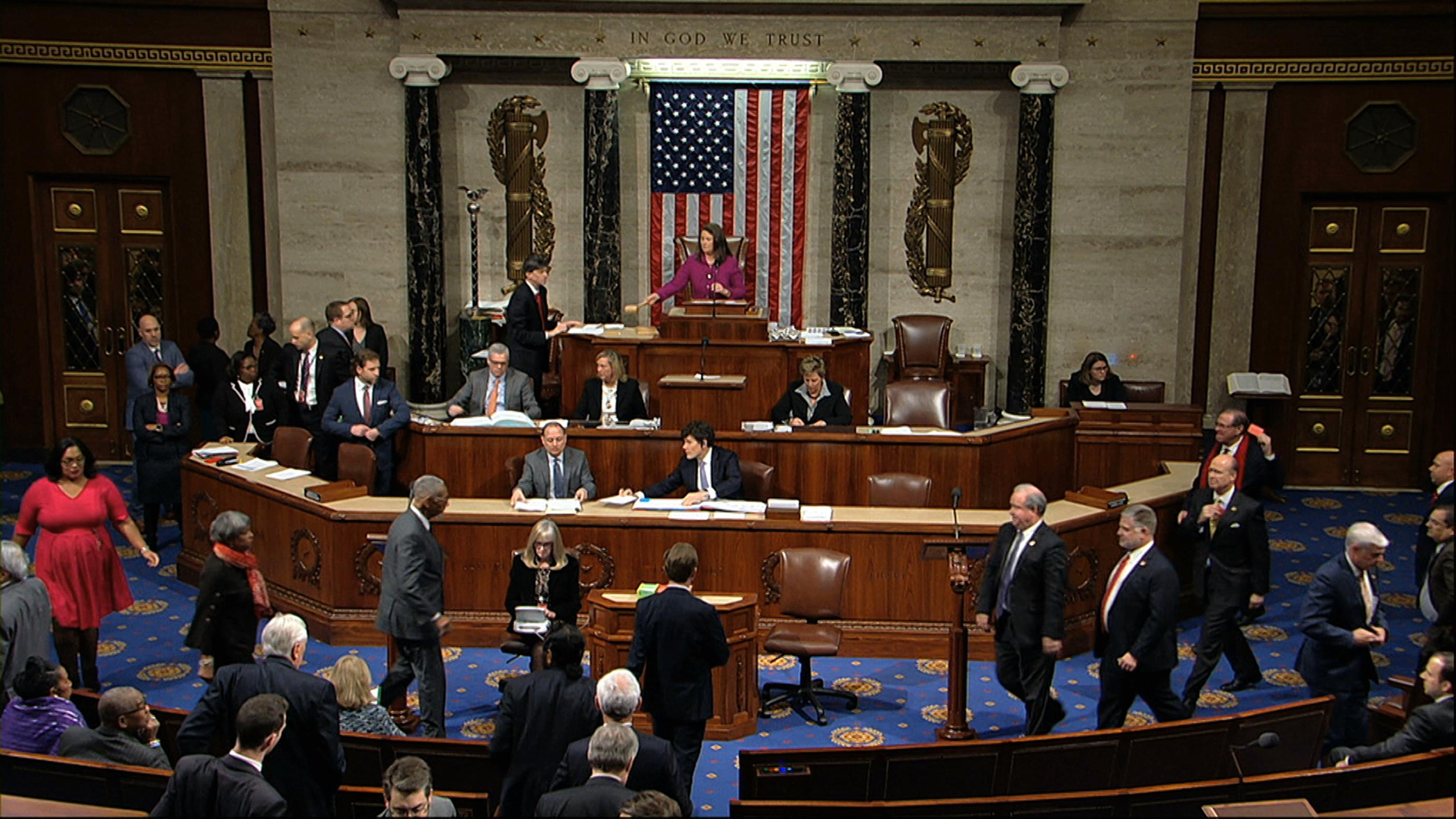President Donald Trump Impeached By Us House Of