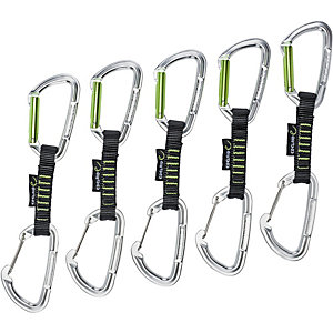 EDELRID Slash Wire Expressen schwarz/grün im Online Shop
