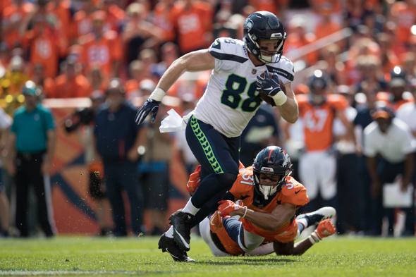 Image result for will dissly seahawks