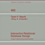 Interactive Relational Database Design Springerlink