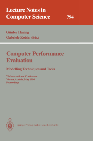 Computer Performance Evaluation Modelling Techniques and