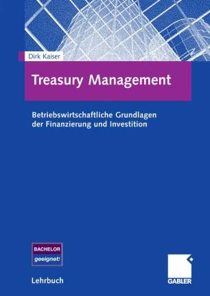 Treasury Management  SpringerLink