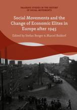 Social Movements And The Change Of Economic Elites In Europe After