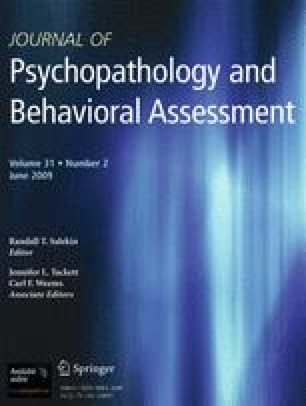 Psychometric Characteristics of the Beck SelfConcept