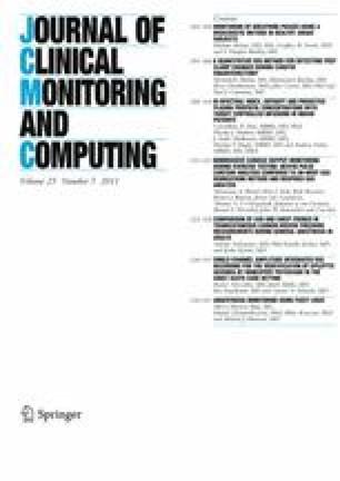 A Quantitative EEG Method for Detecting Post Clamp Changes